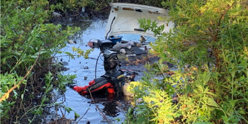 Dive Team | Hillsborough Sheriff | Retention pond Crash