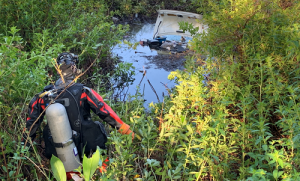 Dive Team | Hillsborough Sheriff | Retention pond Crash