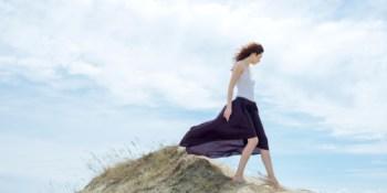 Girl | Mountain | Sassy Sandpiper