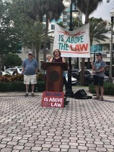 Andrea Hildebran Smith | Release the Report Rally | Politics