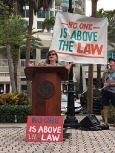 Kate Pravera | Release the Report Rally | Politics