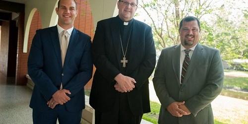 Daniel Zepp   Bishop Gregory L. Parkes   Ross Bubolz
