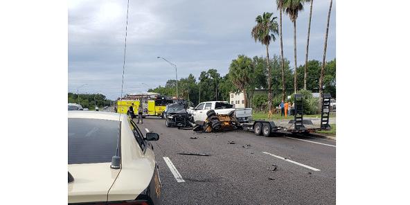U S  301 Crash Kills Riverview Man, Seriously Injures Five