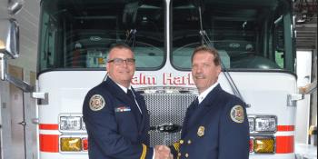 Palm Harbor fire Chief Scott Sanford   Palm Harbor Chief Craig Maciuba   Palm Harbor Fire Rescue