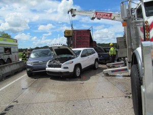 Man, Baby Dead After Nine-Vehicle I-75 Crash Involving Dump Truck