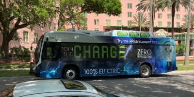 PSTA Electric Bus | Transportation | Environment
