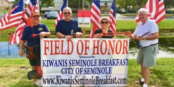 Field of Honor | Kiwanis Breakfast Club of Seminole | Events
