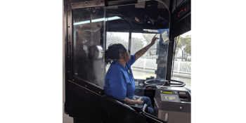 PSTA Safety Shields | Bus Service | Transportation
