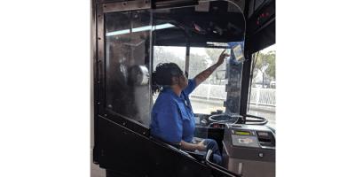 PSTA Safety Shields | Bus Service | Transportation