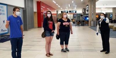 Tampa Airport | COVID Precautions | TB Reporter
