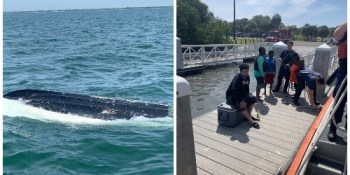 Overturned Boat | Coast Guard | Survivors