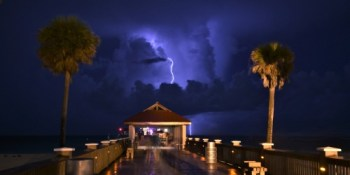 Clearwater Beach | Lightning | TB Reporter