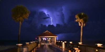 Clearwater Beach | Lightning | TB Reporter