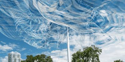 echelman sculpture | st pete pier | Art