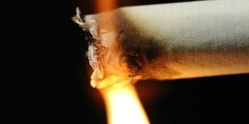 Lit Cigarette | Fire | TB Reporter