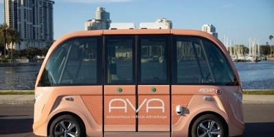 AVA | Autonomous Bus | PSTA