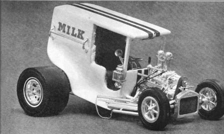 Bernard Bauerle Milk Truck C-Cab T