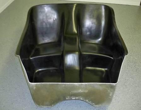 MAS Fiberglass T-Bucket body seat insert by Cromwell Molding Co