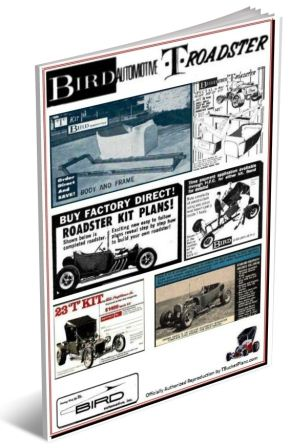 Bird Automotive T-Bucket Plans