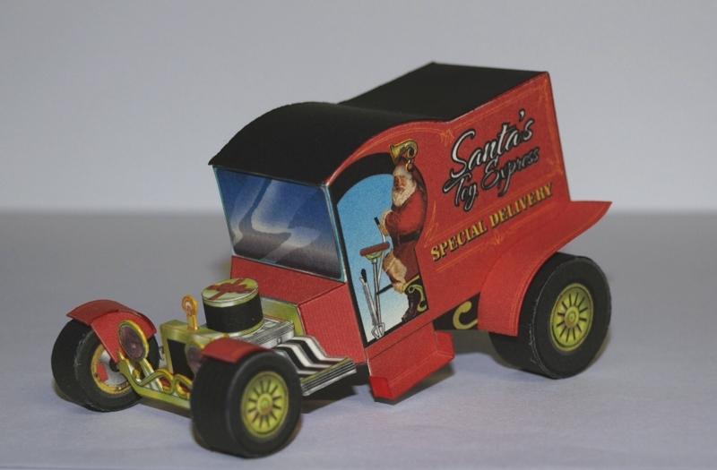 Hot Rod Holiday C-Cab T-Bucket