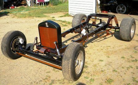 Tara Lubiato Arly Hayden T-Bucket rolling chassis (23)