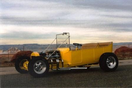 StreetRod Plans Tub T-Bucket