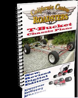 California Custom Roadsters CCR T-Bucket Plans