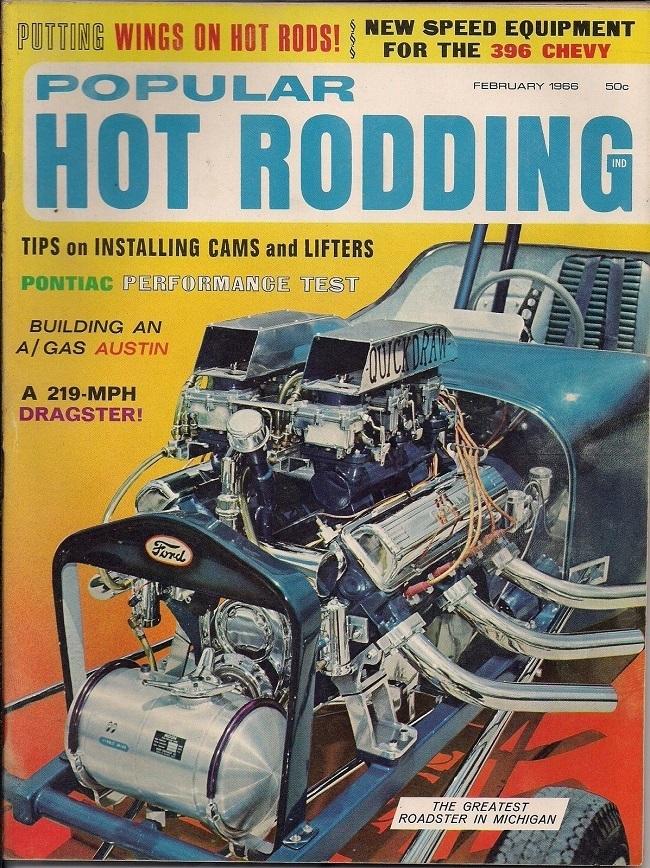 Popular Hot Rodding February 1966