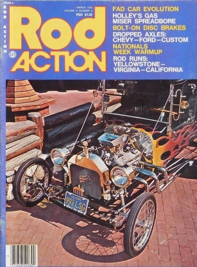 Rod Action March 1976 Fad T