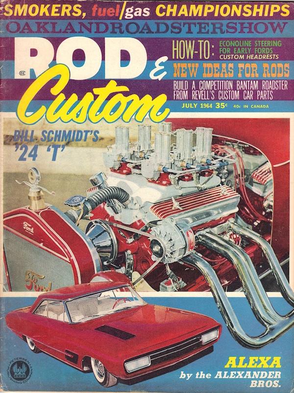 Rod and Custom July 1964