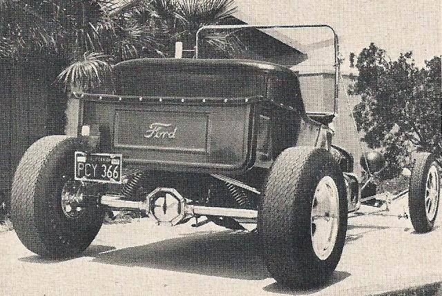 1915 T-Bucket body Don Oaks Bob Reisner