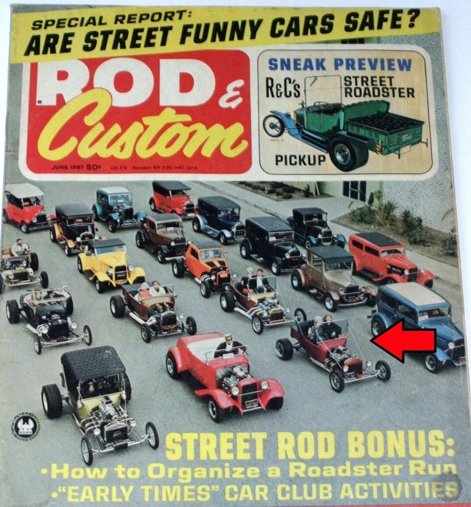 Rod & Custom June 1967 Dan Woods