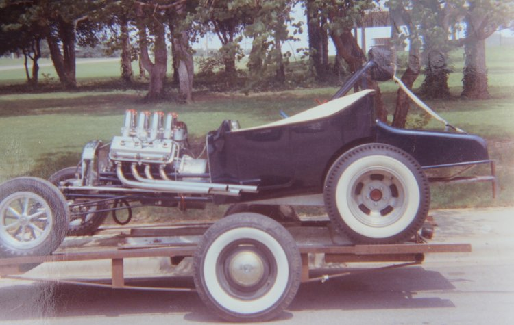 1923 T-Bucket altered Charles Tunnell