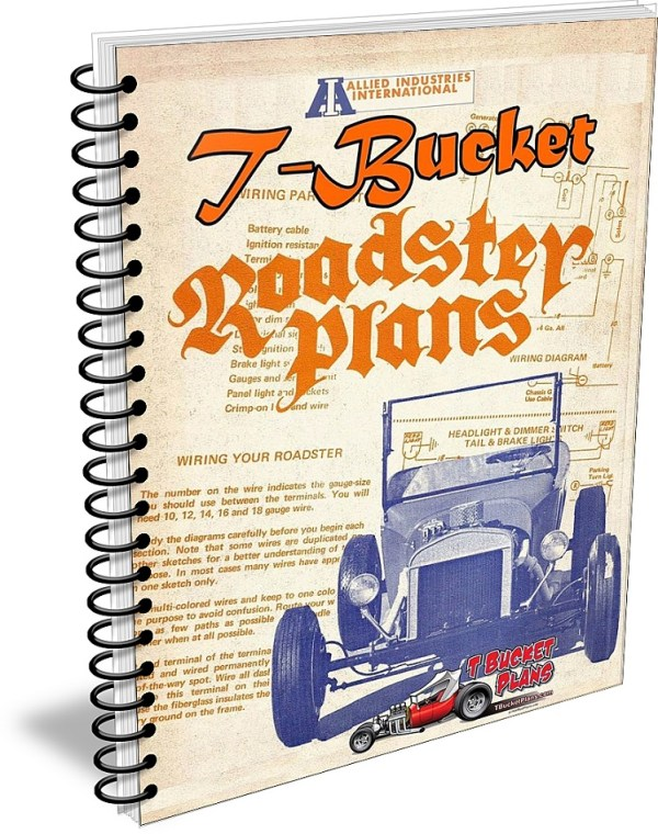 1960s T Buckets plans Allied Industries