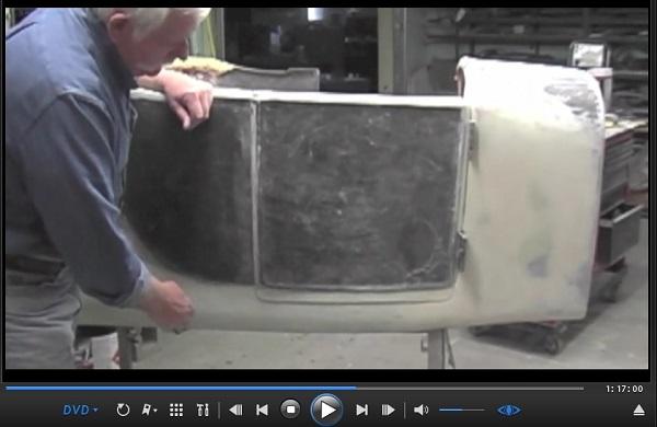 Fiberglass body T Bucket doors opening