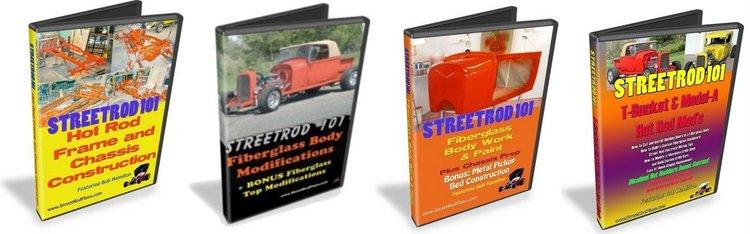 Street Rod DVDs