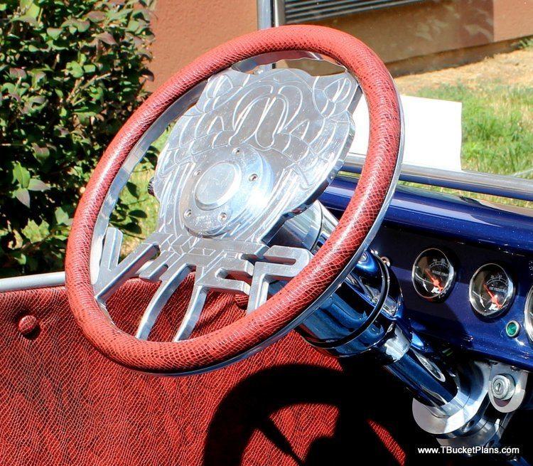 Dodge Viper T-Bucket steering wheel