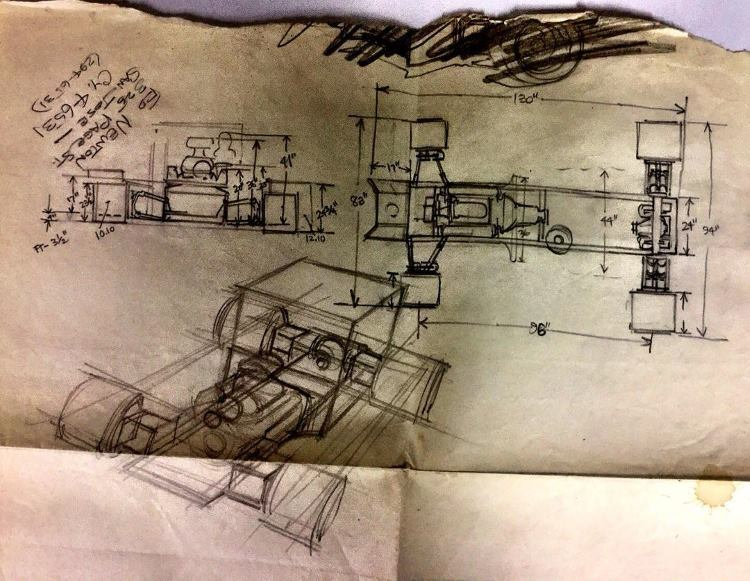 Dan Woods Ice Truck Ed Newton drawing
