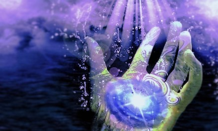 Photo Credit - circleofthedolphins - hand of light in times of need