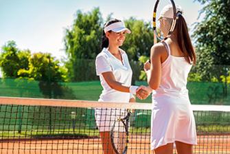 Spiel Tennis im Tennis Verein Rüsselsheim