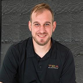 sean blackburn, lead electrician at TCA in Vancouver BC