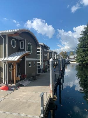 homes at mosquito creek marina in vancouver