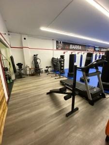 the interior of Gracie Barra gym