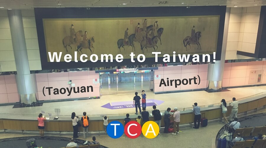 Welcome to Taiwan! (Taoyuan Airport)