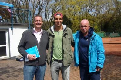 Jan-Lennard Struff bei BW 01.05.2016