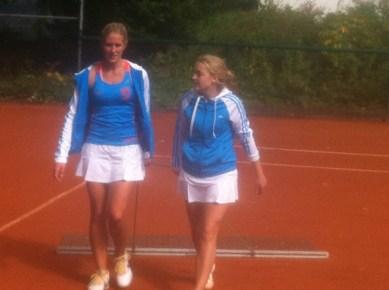 Katharina Alexander und Chiara Kampschulte