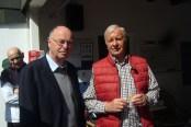 Peter Trick und Karl-Heinz Fiedler (25 Jahre BW)