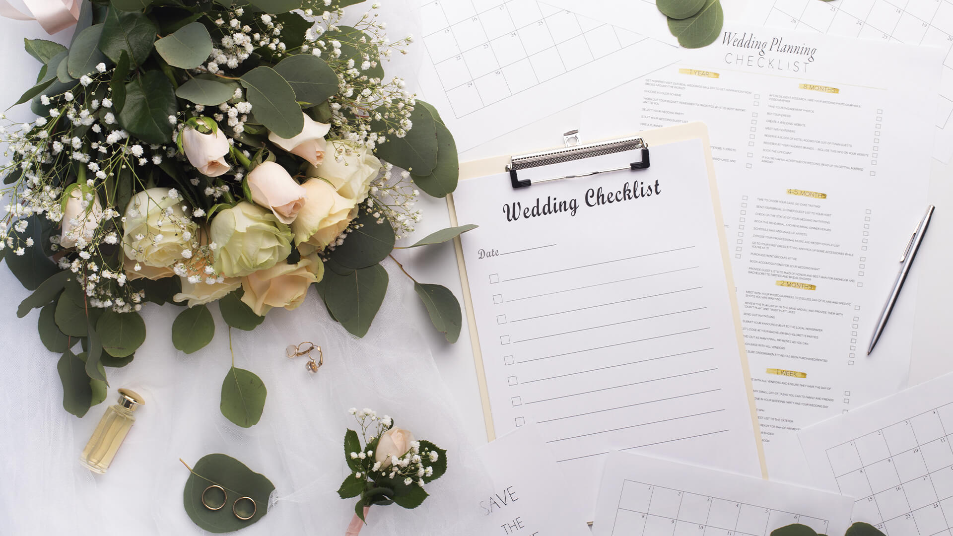 The Ultimate Wedding Planning Checklist and Timeline