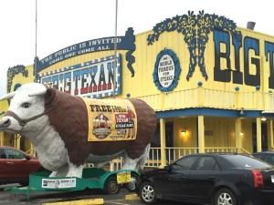 Big Texan steer
