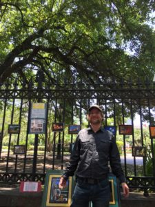 NOLA Dave in Jackson Square